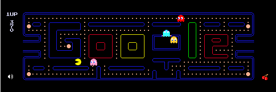 HTML5 game Pacman from Google