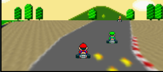play online Super Mario Kart HTML5 game