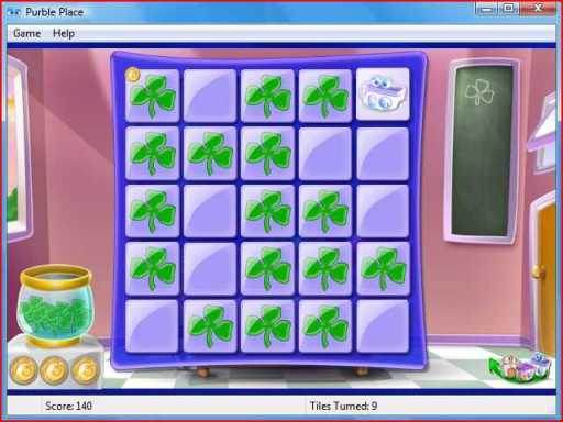 Purble Pairs memory game for kids