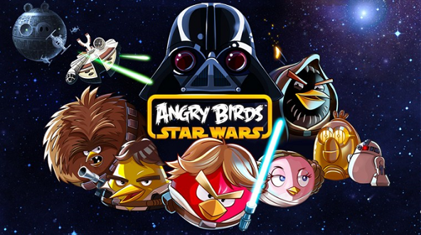 Windows 8 Angry Birds Star Wars game