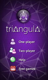 Windows Phone 8 Triangula game