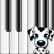 Dog Piano virtual piano app for Windows 8 and for kids