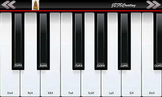 PianoPhone7 as Windows Phone 8 piano app