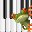 Windows Phone 8 piano app Frog Piano for kids