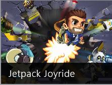 Jetpack Joyride game