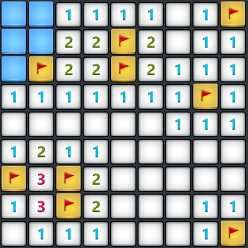 Windows 8 Minesweeper game app modern layout