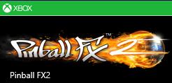 Pinball FX2 game