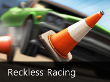 Reckless Racing arcade game for Windows 8