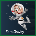 Windows 8 Zero Gravity game