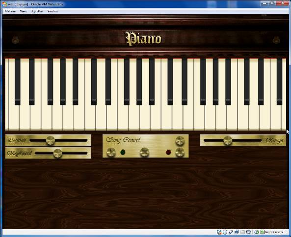 Windows 8 Piano application