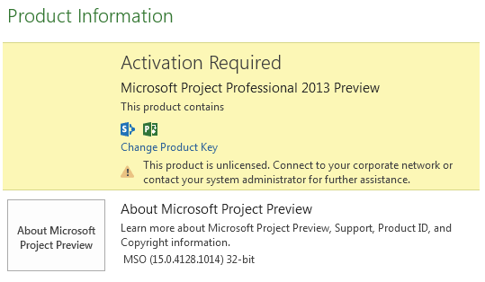 microsoft office project 2013 product key