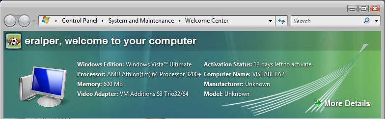 what happens if windows vista is not activated