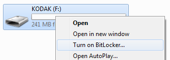 Windows 7 BitLocker To Go
