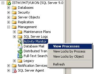 kill sql processes running on sql server database