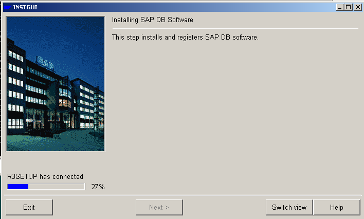 SAP DB Software Installation