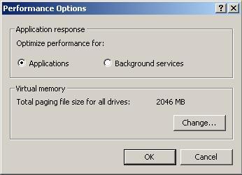 virtual memory maximum registry size