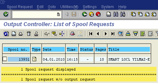 create single spool request for all SAP Smartforms calls in a loop