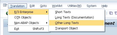 sap-smartforms-se63-translation-r3-enterprise-other-long-texts-menu-selection