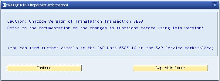 sap-smartforms-Unicode-Version-of-Translation-Transaction-SE63