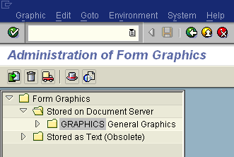 SAP form graphics for upload using abap se78 transaction