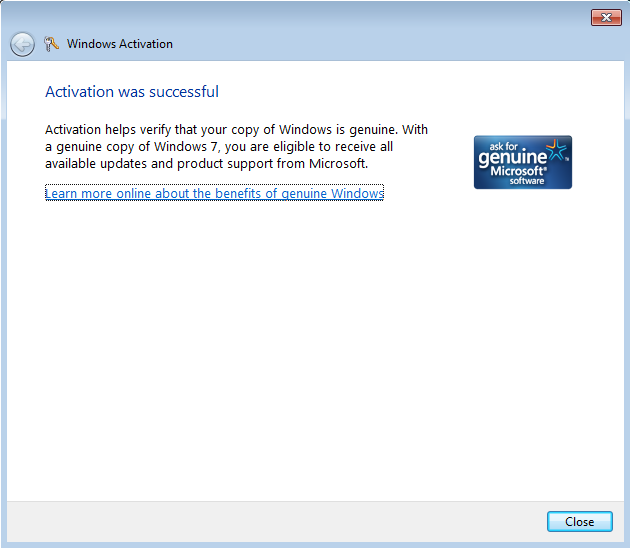 microsoft online activation number
