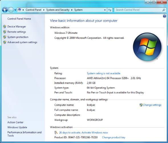 windows 7 register