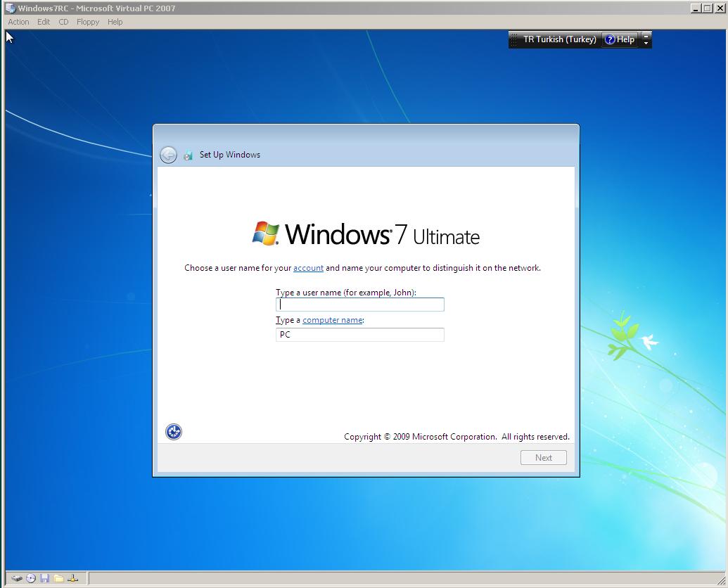 Windows 7: how to set a password 38