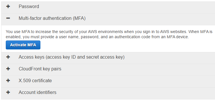 How to Enable MFA Multi-Factor Authentication on AWS