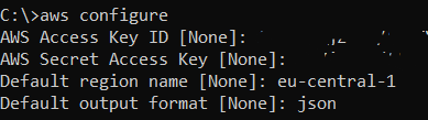 AWS Access Key ID and AWS Secret Key for CLI
