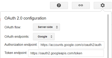 OAuth 2.0 Configuration for AccessTokenEndpoint