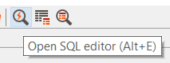 launch new SQL Editor screen