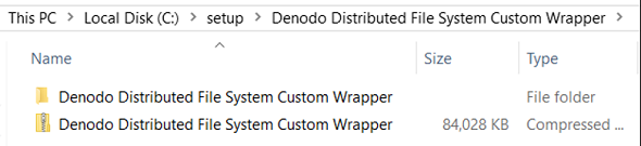 download Denodo Connector for AWS S3 and extract