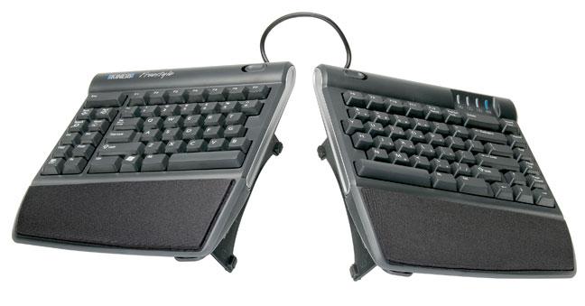 Kinesis Freestyle VIP ergonomic keyboard