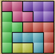 Block Puzzle level 24 solved