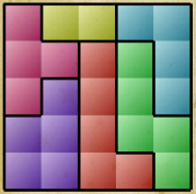 Block Puzzle solutions for level 22