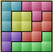 Block Puzzle tangram level 23 solution