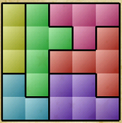 Tangram for kids level 27 solution