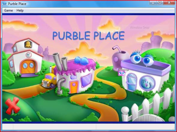 – Gioco Vista di Puble Place in Windows 7
