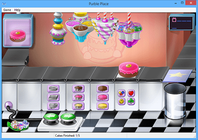 how to play Purble Place on Windows 8