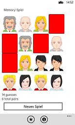 matching pairs memory game