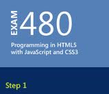 Exam 70-480 Programming in HTML5