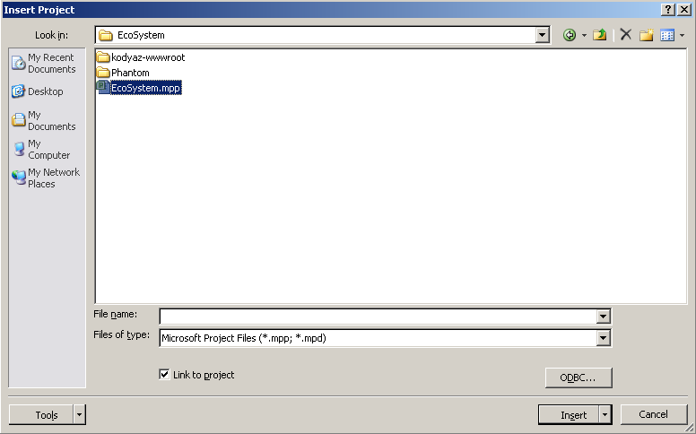 insert-project-as-subproject-microsoft-project-2010