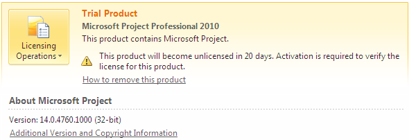microsoft-project-professional-2010-verify-licence