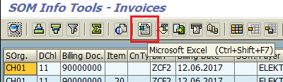export SAP ALV grid data to Excel in ABAP program