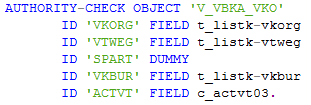 ABAP authority-check command