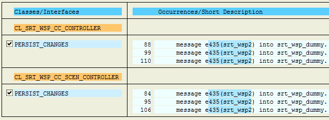 How to find where a Message is used in ABAP Programs