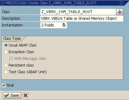 usual ABAP class properties for shared memory object