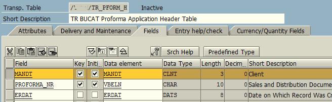 add MANDT field in custom table in ABAP