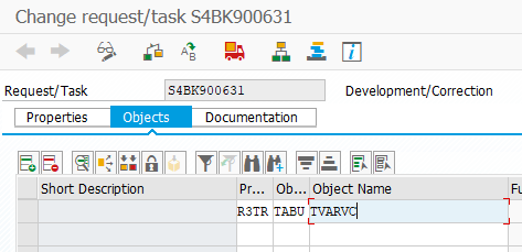 add sap table into SAP transport request to transfer table contents