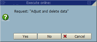 Adjust and Delete data from ABAP table using SE14